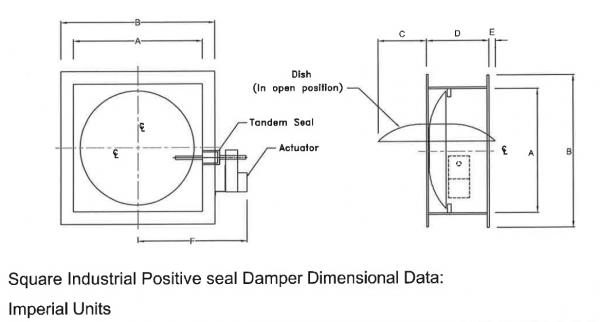 Square Damper